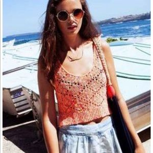 STARING AT STARS [Urban Outfitters] crochet top